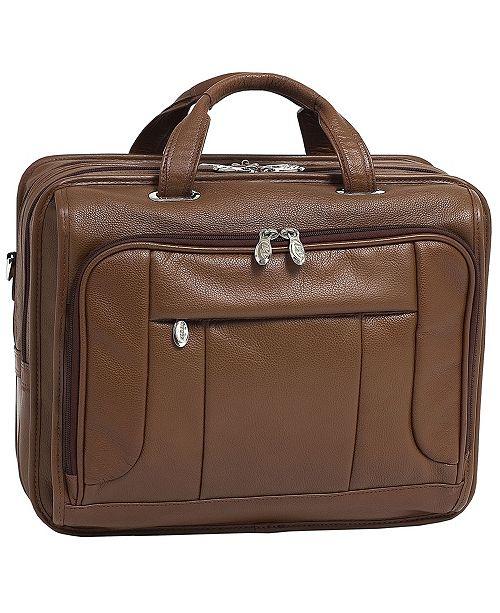 McKlein River West Checkpoint-Friendly Laptop Briefcase