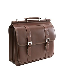 McKlein Siamod Signorini Double Compartment Laptop Briefcase
