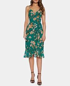 Bardot Floral-Print Ruffled Dress