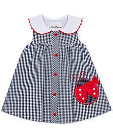Rare Editions Baby Girls Gingham Seersucker Dress
