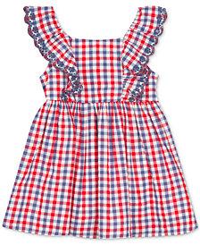 Rare Editions Baby Girls Ruffle Gingham Dress