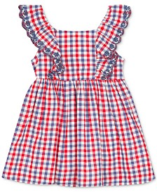 Rare Editions Baby Girls Ruffle Gingham Dress