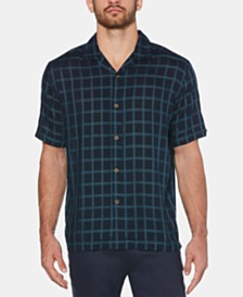 Cubavera Men's Windowpane Shirt