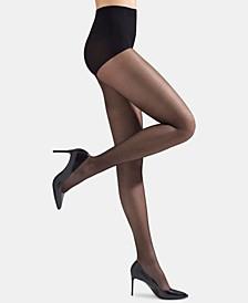 Women's Silky Sheer Control Top Pantyhose Hosiery