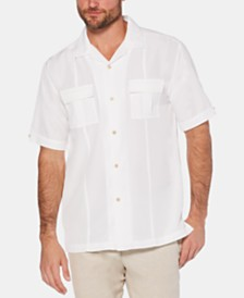 Cubavera Men's Two-Pocket Short-Sleeve Shirt