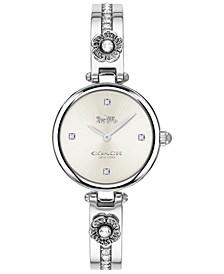 Women's Park Stainless Steel Bangle Bracelet Watch 26mm