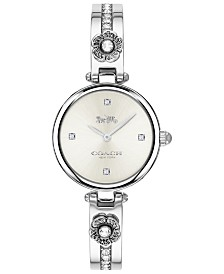 COACH Women's Park Stainless Steel Bangle Bracelet Watch 26mm