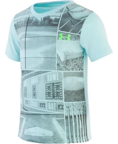 Under Armour Toddler Boys UA Baseball Days Quick-Dry Moisture-Wicking T-Shirt
