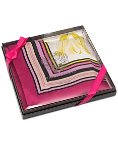 f44adaf14 Vince Camuto Boxed Anemone Silk Square Scarf