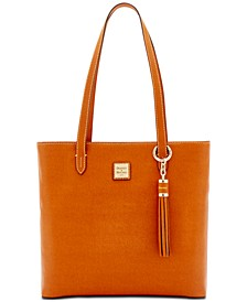 Hadley Coated Leather Tote