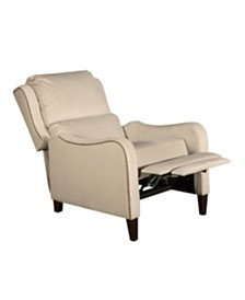 Tommy Hilfiger Eddington Modern Recliner Chair, Quick Ship