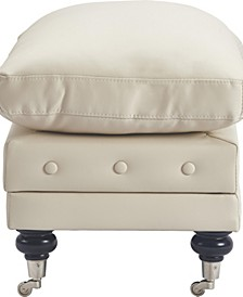 Elle Décor Amery Tufted Storage Ottoman