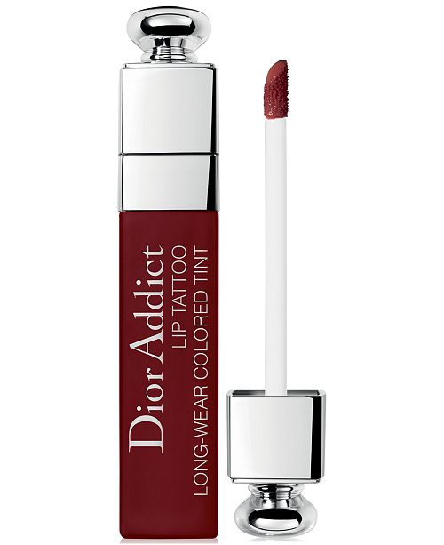 Dior Addict Lip Tattoo Limited Edition