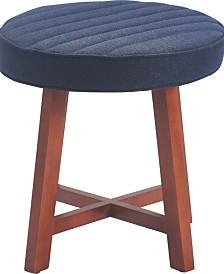 Tommy Hilfiger Lafayette Foot Stool, Quick Ship