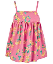 9d153adc1fc First Impressions Baby Girls Hibiscus-Print Sundress