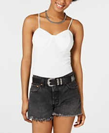 Self Esteem Juniors' Ribbed Camisole