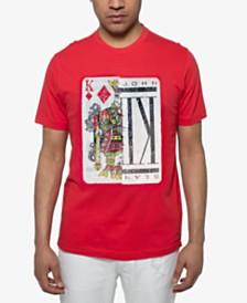 Sean John Men's King of Hearts Sequin Graphic T-Shirt