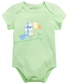 First Impressions Baby Boys Toucan Graphic Bodysuit, Created for Macy's