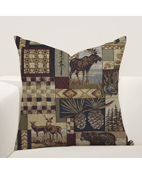 "Siscovers Peters Cabin 16"" Designer Throw Pillow"