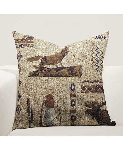 "Siscovers Emmet 26"" Designer Euro Throw Pillow"