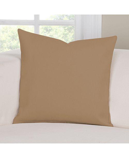 "PoloGear Longhorn Saddle 26"" Designer Euro Throw Pillow"