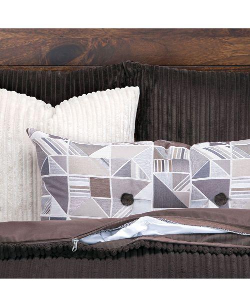 Siscovers Downy Mocha 5 Piece Twin Luxury Duvet Set