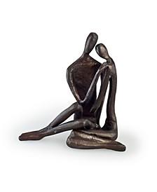 Couple Embracing Cast Bronze