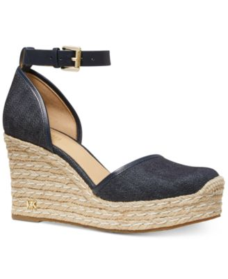 0f5236badd1f13 Michael Kors Kendrick Wedge Espadrilles   Reviews - Sandals   Flip Flops -  Shoes - Macy s