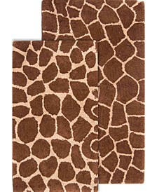 Safari Bath Rug Set