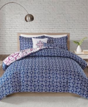 510 Design Amari King/California King 5 Piece Reversible Print Comforter Set Bedding
