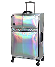 """Spellbound 31"""" Holographic Lightweight Expandable Spinner Suitcase"""