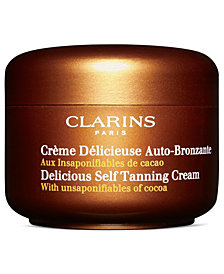 Clarins Delicious Self Tanning Cream, 4.2 fl. oz