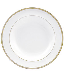 Vera Wang Wedgwood Dinnerware, Lace Gold Rim Soup Bowl