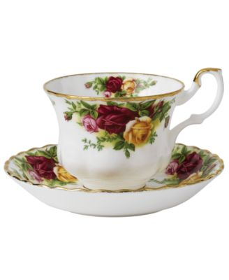 Old Country Roses Teacup and Saucer