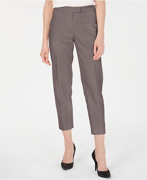 Anne Klein Extended-Tab Trouser Pants
