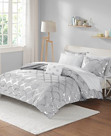 Intelligent Design Lorna Twin 6 Piece Comforter and Sheet Set