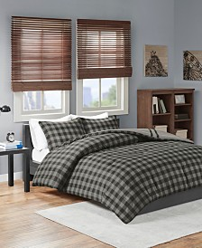 Intelligent Design Oxford Twin/Twin XL 2 Piece Reversible Comforter Mini Set