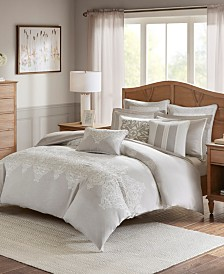 Madison Park Signature Barely There Queen 8 Piece Comforter Set