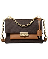 5aa6f79a5c65f5 MICHAEL Michael Kors Cece Signature Chain Shoulder Bag