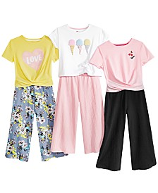 Epic Threads Big Girls T-Shirts & Culottes Separates, Created for Macy's