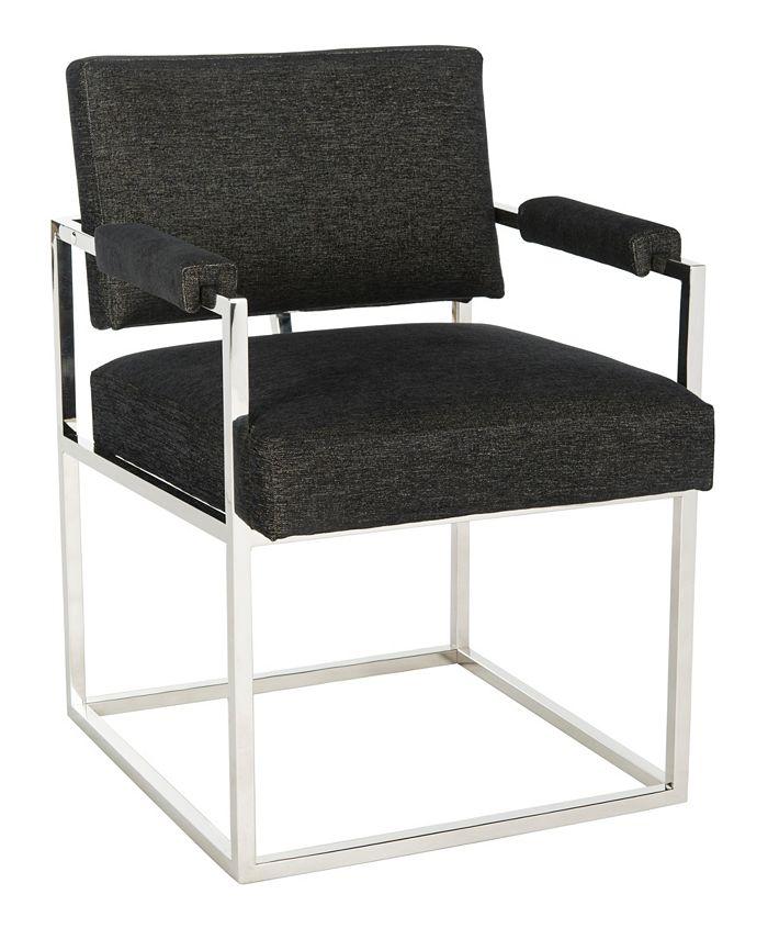 Safavieh - Jenette Arm Chair, Quick Ship