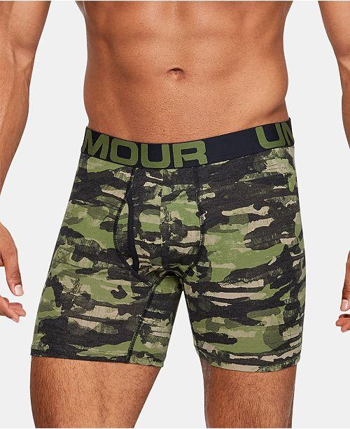 Under Armour Men's 3-Pk. Charged Cotton® Boxer Briefs