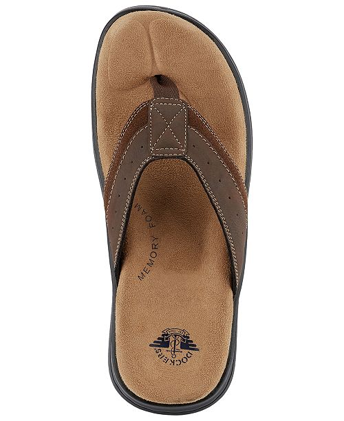 4e329cfbd Dockers Men s Laguna Thong Sandals   Reviews - All Men s Shoes - Men ...