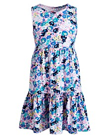 Toddler Girls Floral-Print Tiered Dress, Created for Macy's