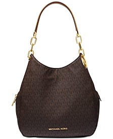 Lillie Signature Chain Shoulder Tote