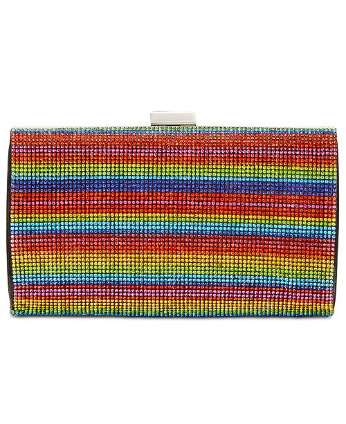 INC International Concepts I.N.C. Ranndi Sparkle Clutch, Created for Macy's