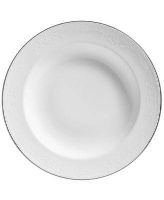 English Lace Rim Soup Bowl