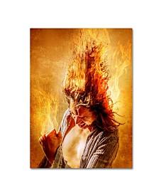 "Steve Augulis 'Heat Miser' Canvas Art - 32"" x 24"" x 2"""