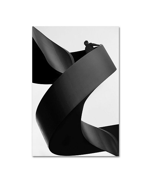 """Trademark Innovations Paulo Abrantes 'Moving Still' Canvas Art - 32"""" x 22"""" x 2"""""""