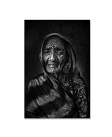 """Fadhel Almutaghawi 'Grandma' Canvas Art - 32"""" x 22"""" x 2"""""""